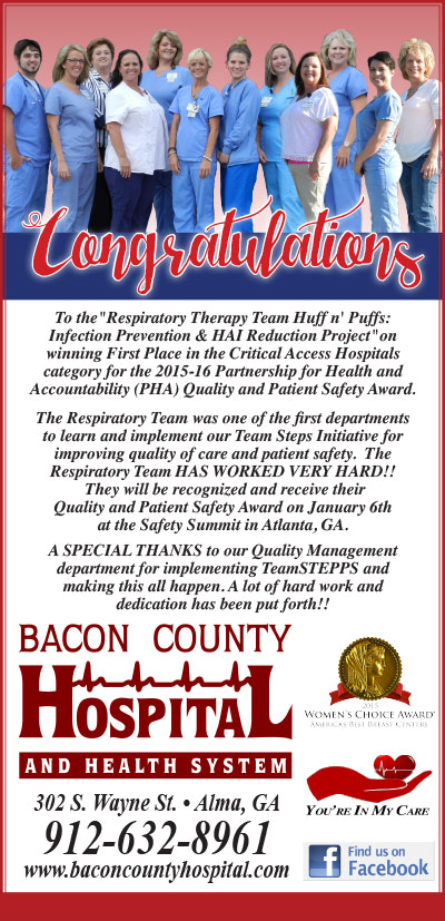 Welcome to Bacon County Hospital and Health System